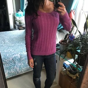 Sweaters - Small purple American Eagle Sweater